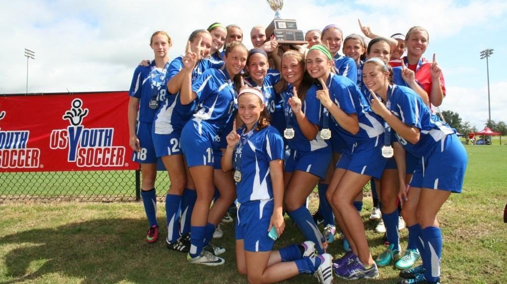 Blue Fusion U17 National Champions!