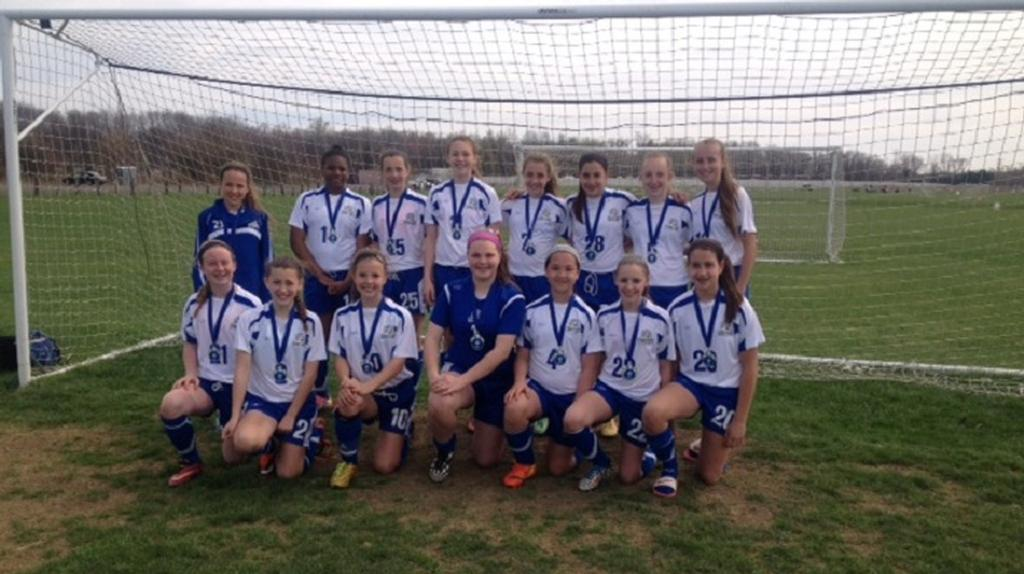 U13 Blue Force Wins PDA Spring Kickoff Tournament!