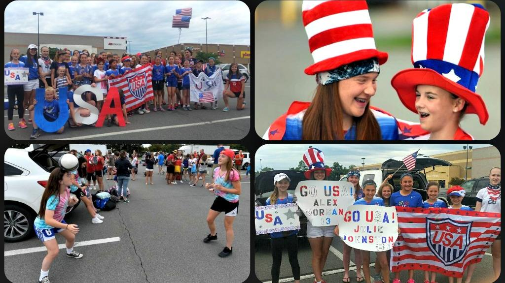 CAPU Families Head to the World Cup to Cheer on the USA Womens Team!