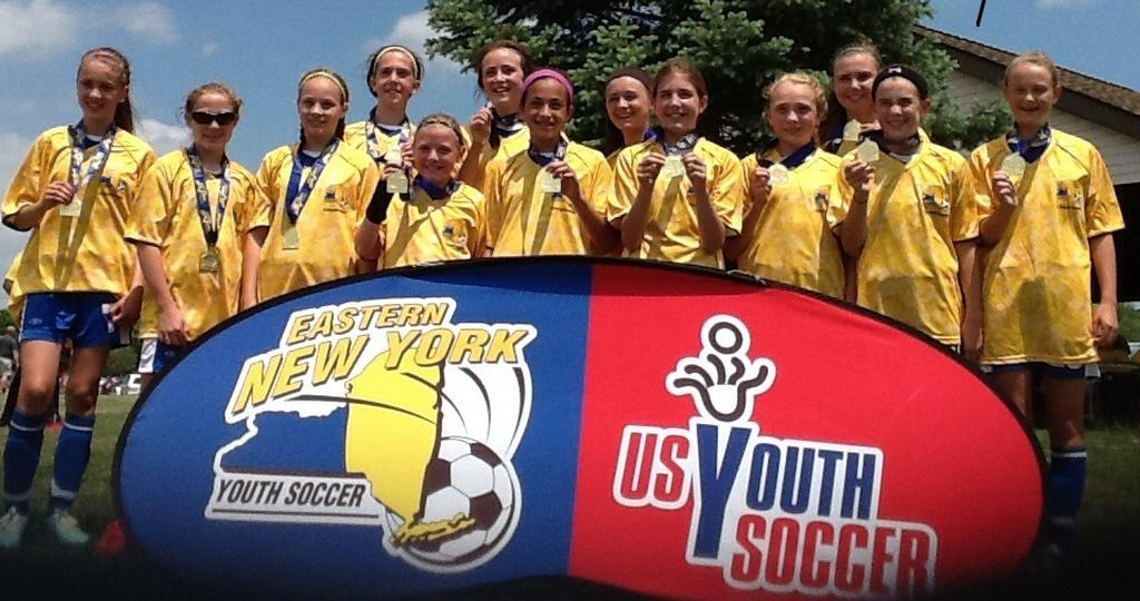 U12 Blue Flash US Youth Soccer Region 1 Semi-finalists!