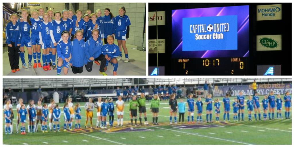 University at Albany, Division I Women's Soccer, Features Capital United players at home game!